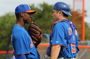 Could Rafael Montero and Travis d'Arnaud be playing against the Mets next year?