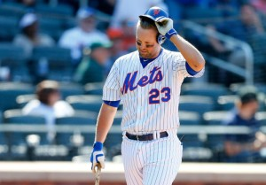 Michael Cuddyer and the Mets have had trouble putting the ball in play on most nights