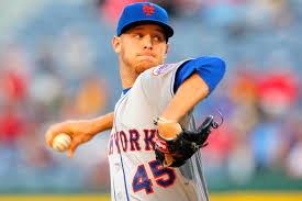 For the moment, Zack Wheeler is still a New York Met (Photo by NY Post)